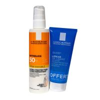 Anthelios spray solaire 200ml et gel lavant 100ml