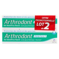 Arthrodont Protect gel dentifrice fluoré 2x75ml