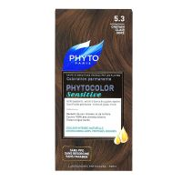 Phytocolor Sensitive coloration permanente châtain clair doré 5.3