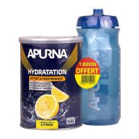 Hydratation effort citron 500g & bidon offert
