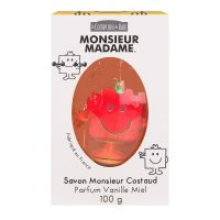 Savon Mr Costaud parfum vanille miel 100g