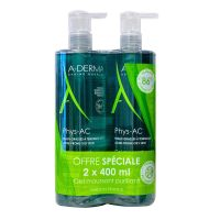 Phys-Ac gel moussant purifiant 2x400ml